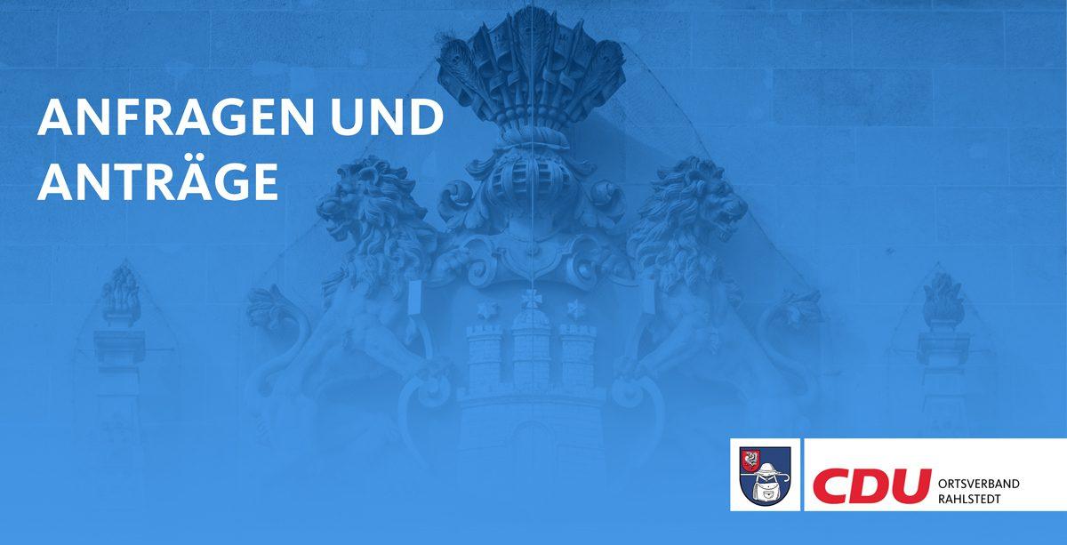 Titelbild Anfragen Anträge Ortsverband Rahlstedt