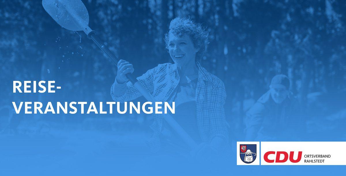 Titelbild Reiseveranstaltungen Ortsverband Rahlstedt