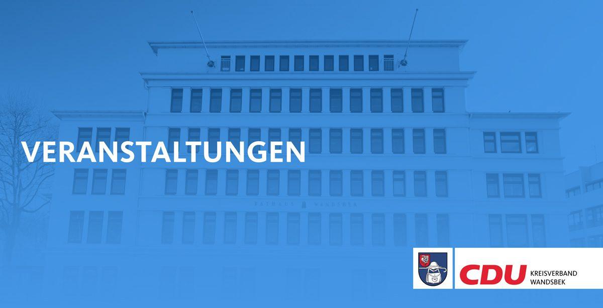 Titelbild Veranstaltungen Kreisverband Wandsbek