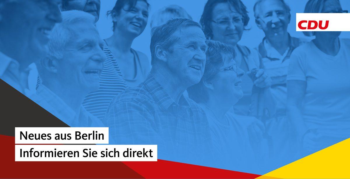 Titelbild Neues aus Berlin