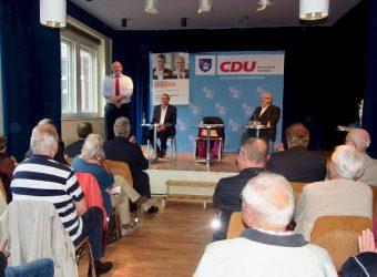 08. September 2017 - Kanzleramtsminister Peter Altmaier zu Besuch in Rahlstedt - im BiM (Bürgerhaus in Meiendorf)