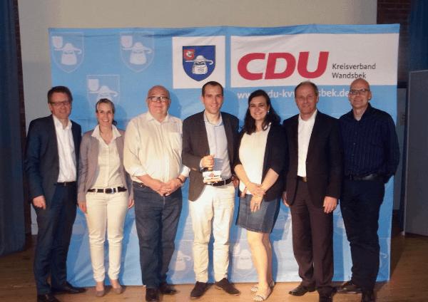 CDU Kreisverband Wandsbek wählt neun Vorstand