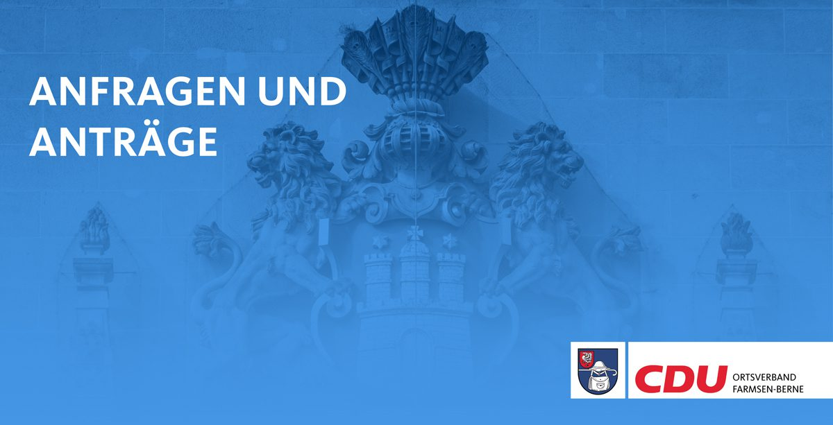 Titelbild Anfragen Anträge Kreisverband Wandsbek