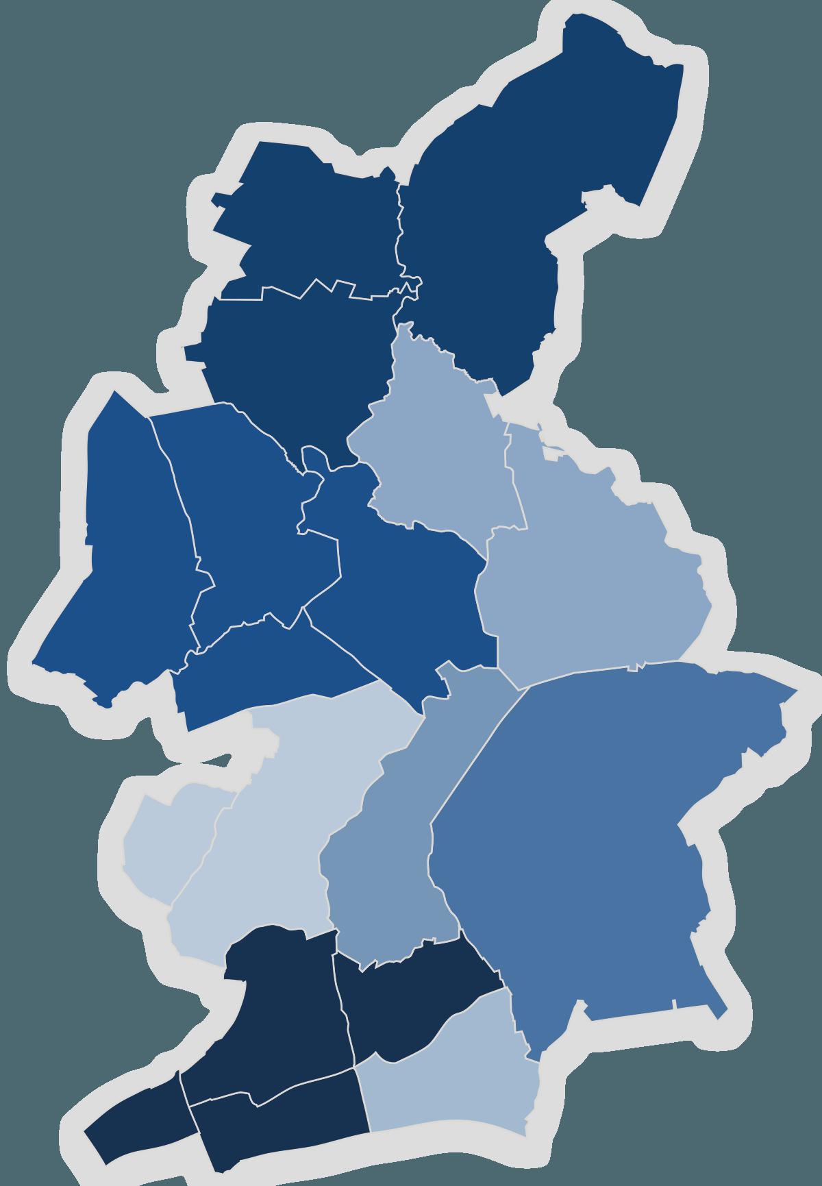Lagekarte CDU-Kreisverband Wandsbek