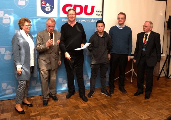 Traditionelles Grünkohlessen der CDU Farmsen-Berne