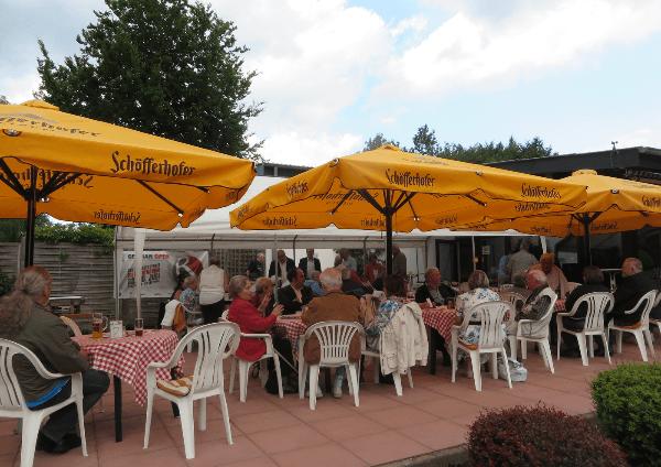 Traditionelles Sommergrillfest des Ortsverbandes