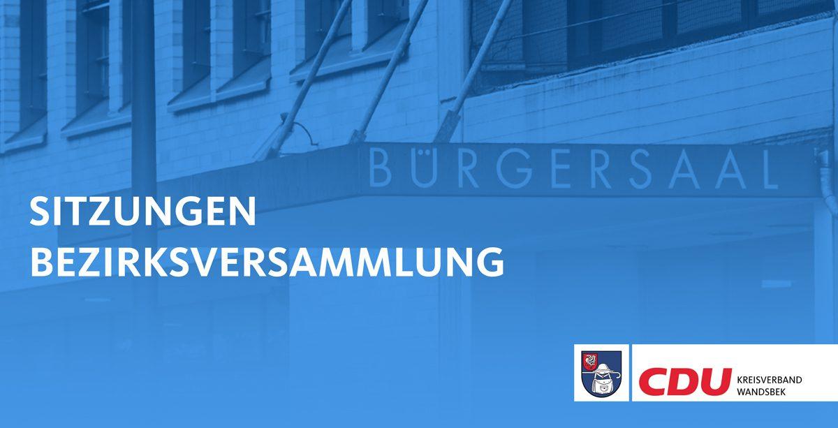 Sitzungen Bezirksversammlung Kreisverband Wandsbek