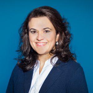 Fraktionsvorsitzende Franziska Hoppermann