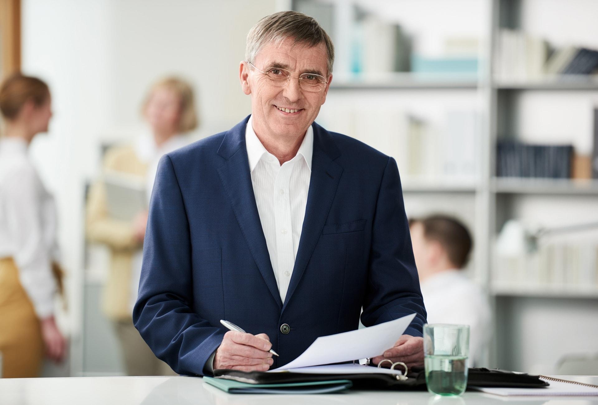Karl-Heinz Warnholz, MdHB und Ortsvorsitzender