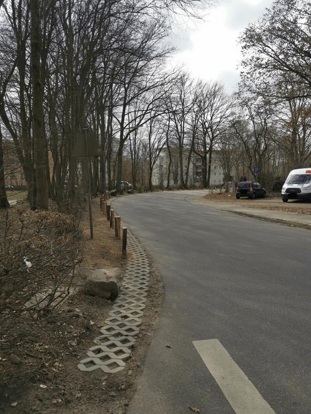 Gute Arbeit wirkt: Straße Lüdmoor wird auf Anregung der CDU ausgebessert