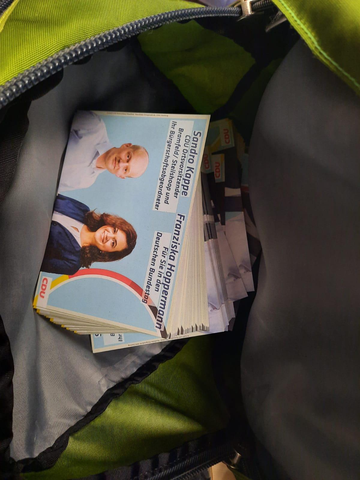 Osteraktion mit Franziska Hoppermann – Wir zeigen Flagge!
