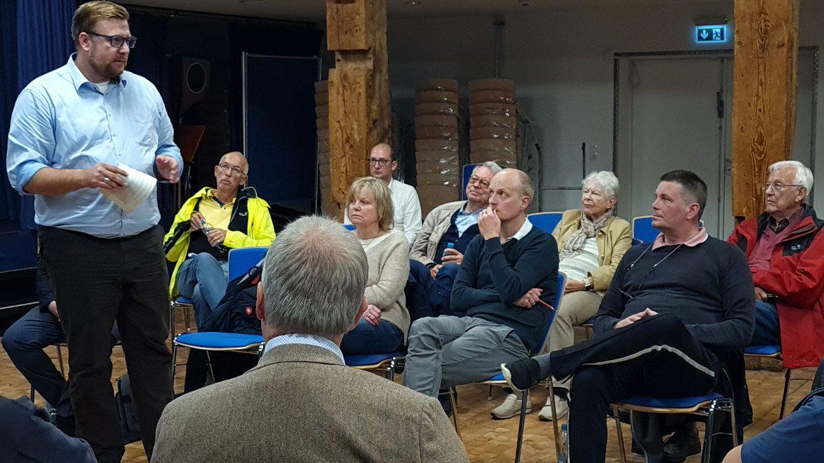 Schöner Infoabend der CDU Bramfeld/Steilshoop im Brakula am Dienstag
