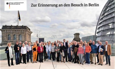 25.09.2019 – 2-tägige Berlin-Fahrt, zu Gast beim CDU-Bundestagsabgeordneten Christoph de Vries