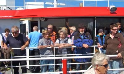 "02. August 2016 Helgoland – Tagesfahrt mit dem Hochseekatamaran ""Halunderjet"""