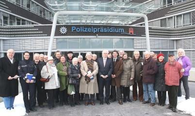 Besuch des Polizeipräsidiums 2013