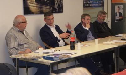 03.04.2018 – Ortsvorstandssitzung und Vortrag des Bundestagsabgeordneten Christoph de Vries