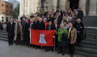 2013 Mitgliederbetreuungsreise nach London / England mit der Queen Mary 2