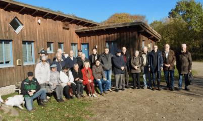 03. November 2018 – Wanderung im Naturschutzgebiet Höltigbaum