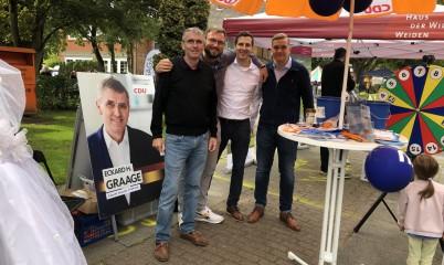 07.09.2019 – Teilnahme am Stadtteilfest in Meiendorf