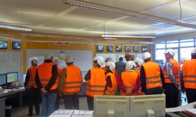 Freitag, den 21. November 2014 – Besichtigung der Müllverbrennungsanlage Stapelfeld