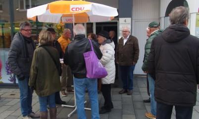 27.10.2018 – Tag der CDU – Infostand