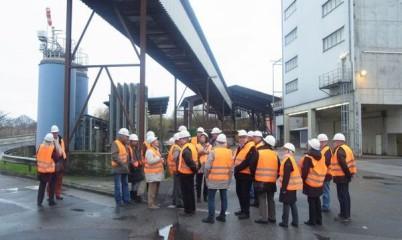 CDU-Ortsverband Rahlstedt: Besichtigung der Müllverbrennungsanlage Stapelfeld