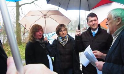 Dietrich Wersich, Vorsitzender der CDU-Bürgerschaftsfraktion Hamburg zu Besuch in Rahlstedt