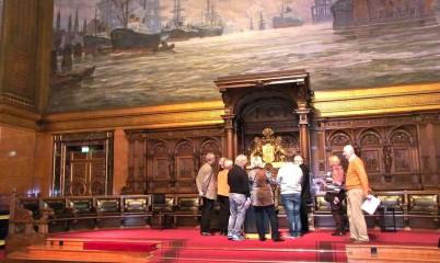 Besuch des Hamburger Rathaus mit Bürgerschaftssitzung
