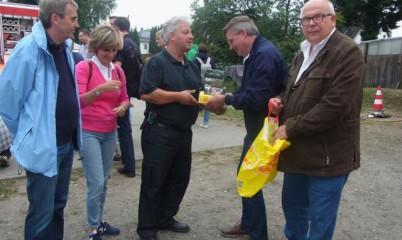 31.08.13 – Frank Schira, CDU-Direktkandidat von Wandsbek für den Deutschen Bundestag 2013 zu Besuch bei der Freiwilligigen Feuerwehr Rahlstedt