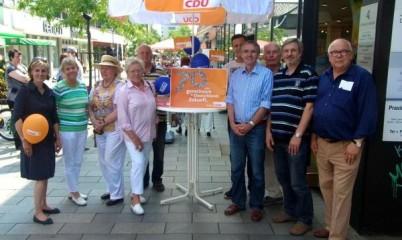 04. Juli 2015 Info-Stand: 70 Jahre CDU Deutschland – Tag der CDU in Hamburg