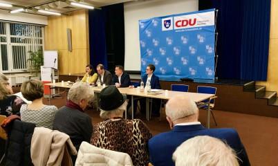 01.04.2019 – Dr. Roland Heintze , Spitzenkandidat zur Europawahl zu Besuch im Kreisausschuss Wandsbek