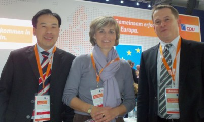 Dr. Friederike Föcking beim Bundesparteitag der CDU am 5. April 2014