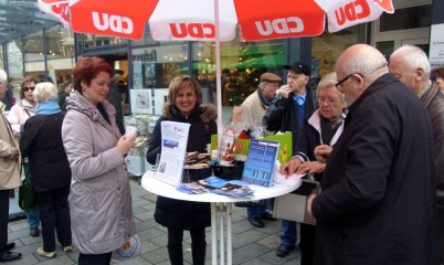 19. Dezember 2015 – Weihnachtsinformationsstand des CDU-Ortsverband Rahlstedt