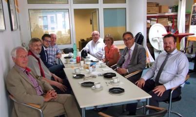 20.07.2015 – Besuch des CDU-Vorsitzenden der Bürgerschaftsfraktion Hamburg André Trepoll in Rahlstedt