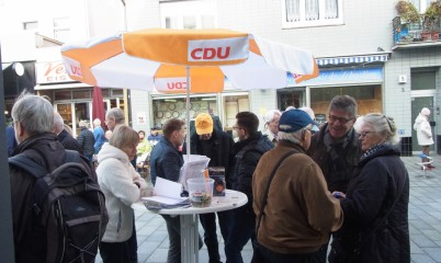 04. November 2017 – Infostand – Schweriner Str.