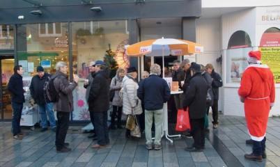 09. Dezember 2017 – Infostand in der Schweriner Straße