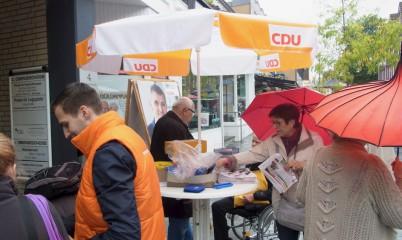 09. September 2017 – Infostand in der Schweriner Str.