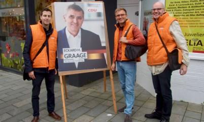16. September 2017 – Junge Union Rahlstedt – von Tür zu Tür Wahlkampf