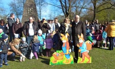 CDU-Rahlstedt organisiert das 42. Ostereiersammlen wieder für die Rahlstedter Kinder