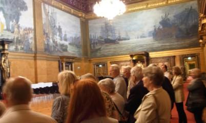 31.05.2017 – Rathausführung mit Besuch der Bürgerschaft