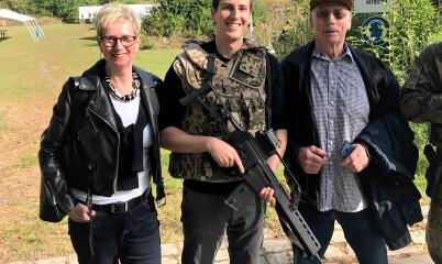 14.09.2019 – Teilnahme von Ortsvorstandsmitglieder der CDU-Rahlstedt am Vergleichsschießen des Reservistenverbands Wandsbek