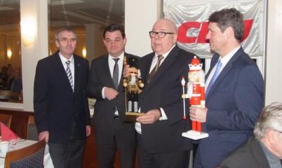 Traditionelles Grünkohlessen des CDU-Ortsverbandes Rahlstedt im Hotel Eggers