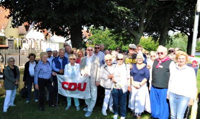 22.08.2019 – Mitgliederbetreuung- Tagesfahrt nach Friedrichstadt und Büsum