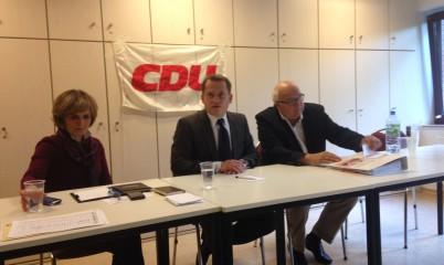 """""""Europa als Chance für Hamburg"""" – Dr. Roland Heinzte, CDU-Europakandidat 2014 zu Besuch in Rahlstedt"""