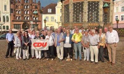 2016 – Rostock / Warnemünde – Tagesfahrt mit der CDU-Rahlstedt