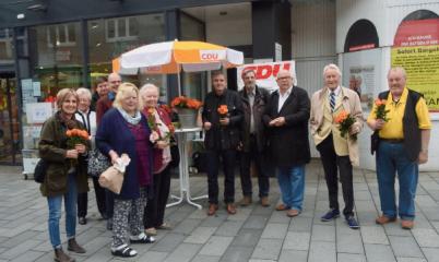 13. Mai 2017 – Infostand zum Tag der CDU in der Schweriner Str.