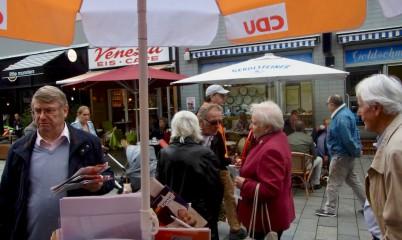 16. September 2017 – Infostand in der Schweriner Str.