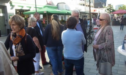 24.09.2016 – Infostand in der Schweriner Str.