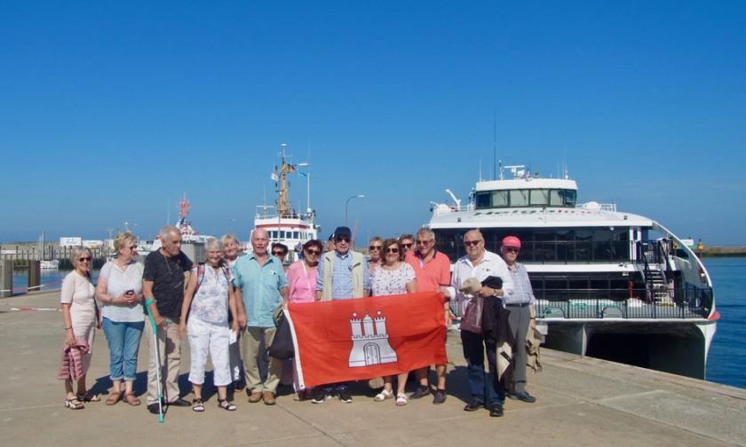 24.07.2018 - Traditionelle Tagestour nach Helgoland - mit dem neuen Katamaran