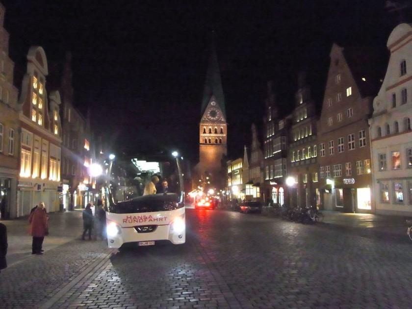 Lichterfahrt nach Lüneburg 2015